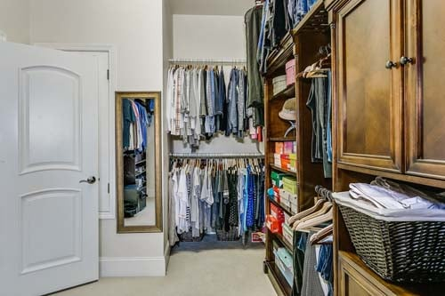 Professionally organized closets by CEO